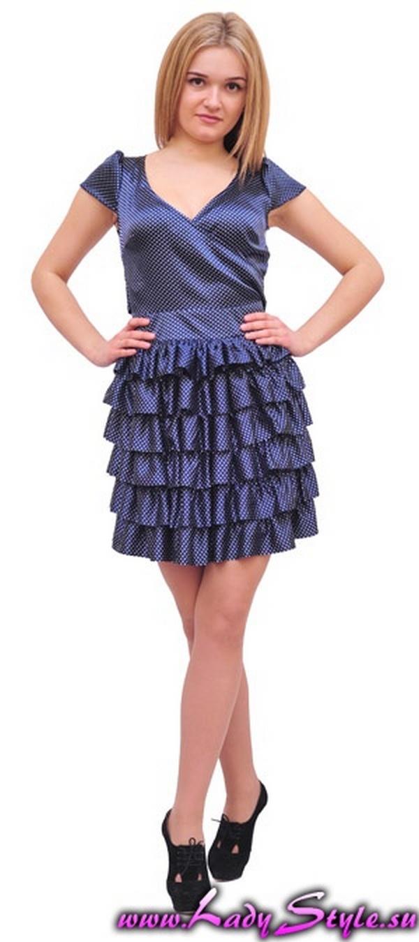 Платье синее в белый горошек Спина открытая Цена: 1500 руб. . По акции: 990 руб. . Состав 85% Вискоза, 15